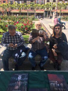 Firma de libros en Alcalá de Henares